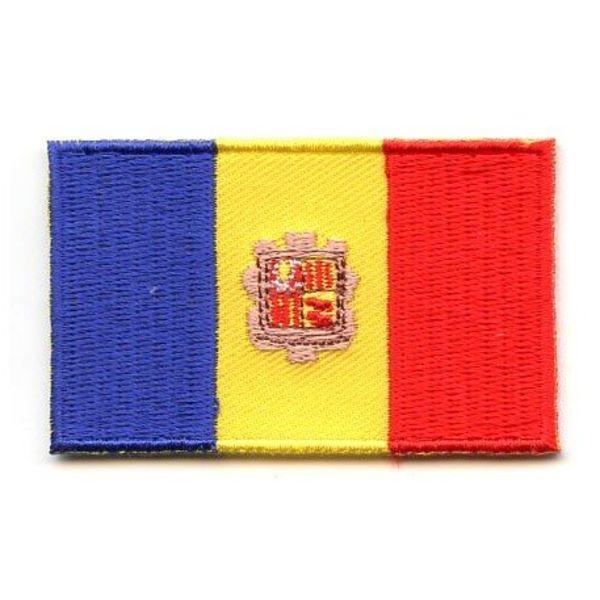 flag patch Andorra