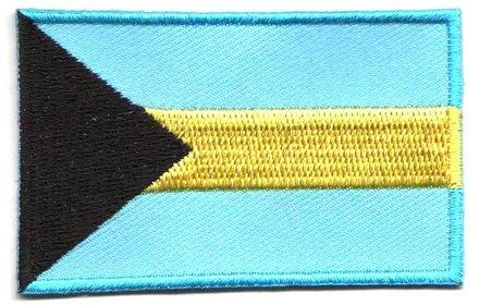 Flaggen-Patch Bahamas