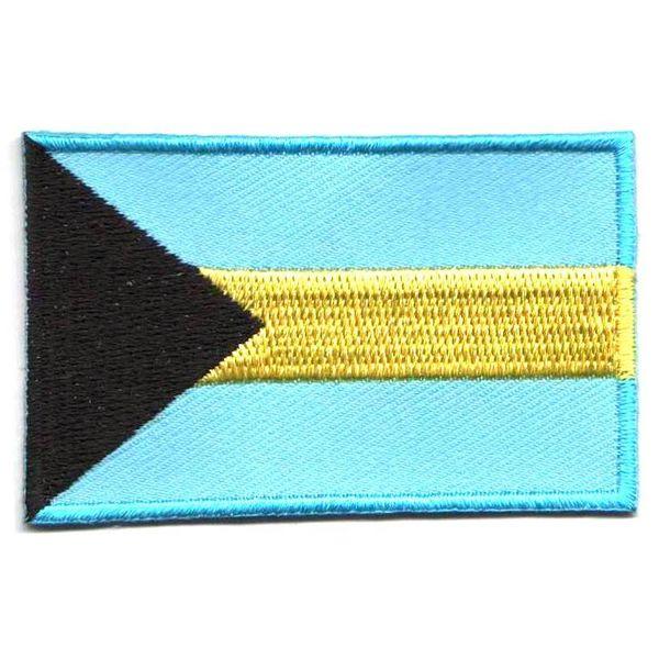 Bahamas-Flaggenflecken