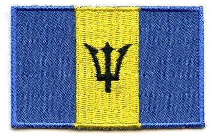 flag patch Barbados