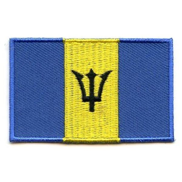 Barbados-Flaggenflecken