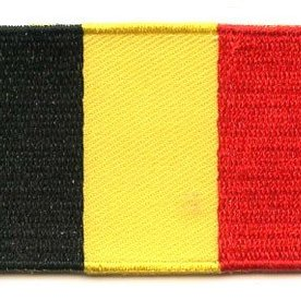BACKPACKFLAGS flag patch Belgium