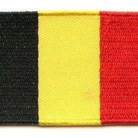 Flaggen-Patch Belgien