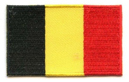 flag patch Belgium