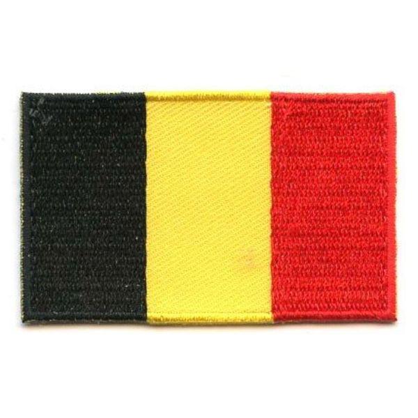 Belgium flag patch