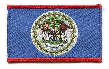 Flaggenpatch Belize
