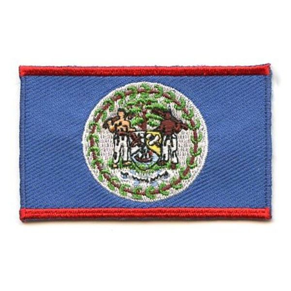 BACKPACKFLAGS flag patch Belize