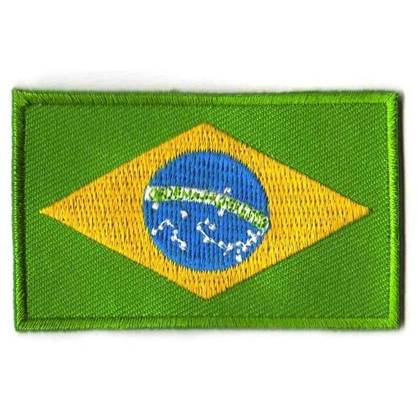 BACKPACKFLAGS flag patch Brazil