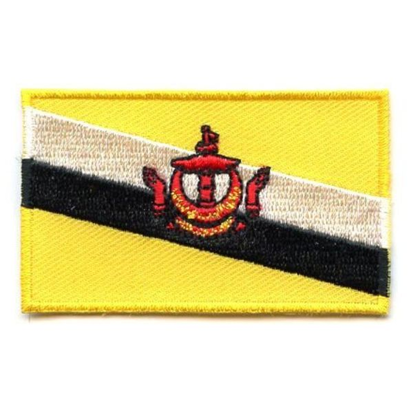 BACKPACKFLAGS flag patch Brunei