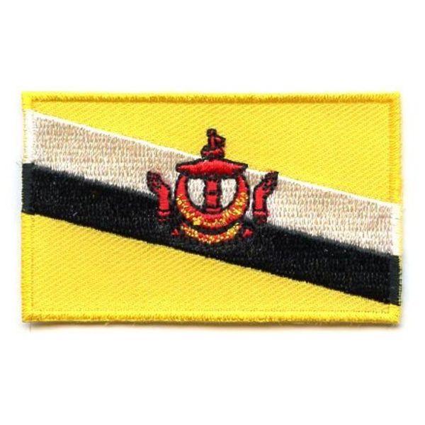 Flagge Patch Brunei
