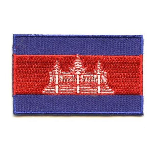 BACKPACKFLAGS flag patch Cambodia