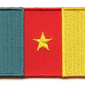 flag patch Cameroon