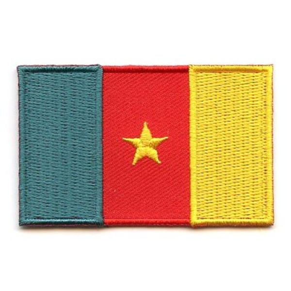 BACKPACKFLAGS flag patch Cameroon