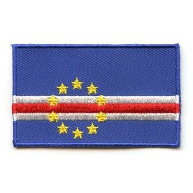 BACKPACKFLAGS flag patch Cape Verde