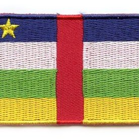 BACKPACKFLAGS flag patch Central African Republic
