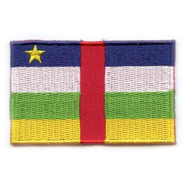 flag patch Zentralafrikanische Republik