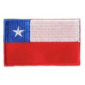 Flaggenpatch Chile