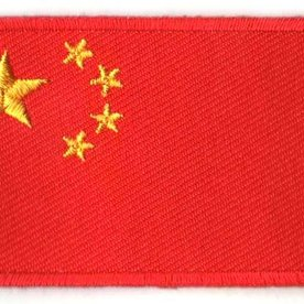 Flaggenpatch China