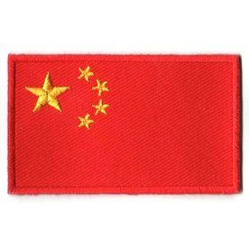 flag patch China