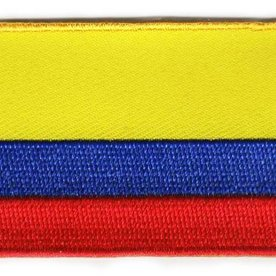 BACKPACKFLAGS flag patch Colombia