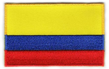 vlag patch Colombia