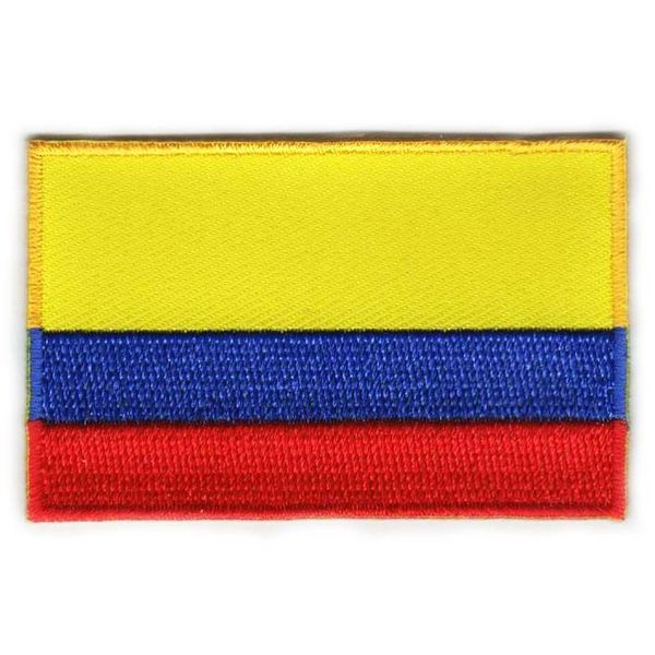 Kolumbianischer Flaggenfleck