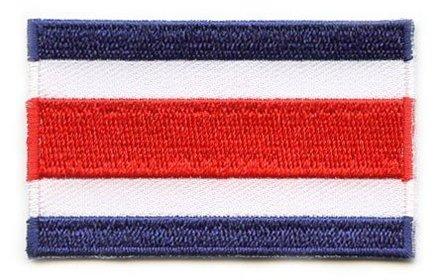 Flagge Patch Costa Rica