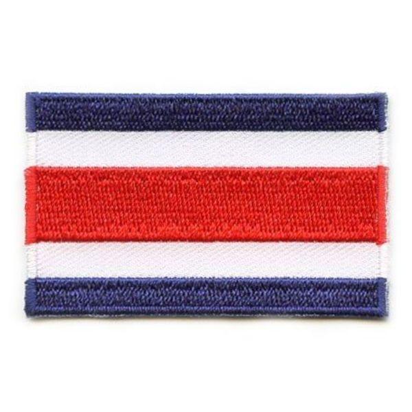Costa Rica flag patch