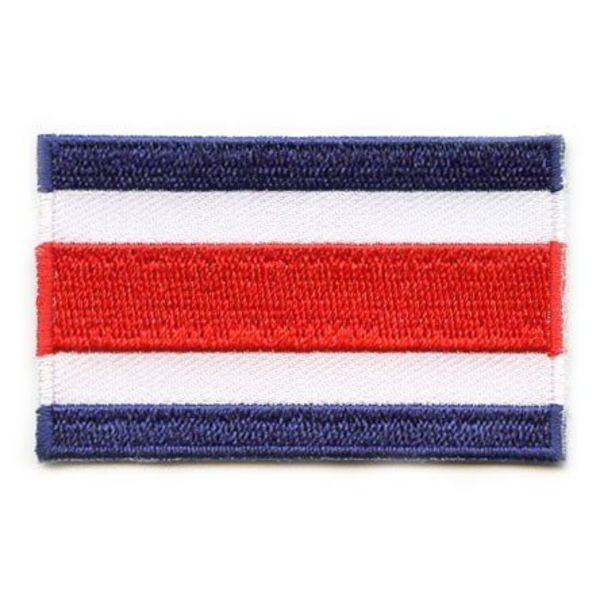 Flagge Patch Costa Rica