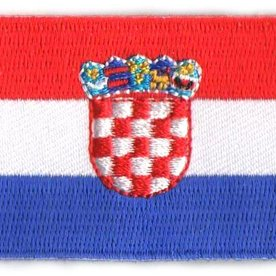 BACKPACKFLAGS flag patch Croatia