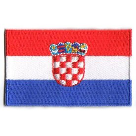 Flagge Patch Kroatien