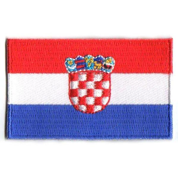 Kroatien Flagge Patch