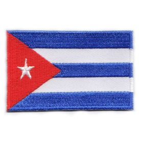 BACKPACKFLAGS flag patch Cuba
