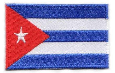Flaggenpatch Kuba