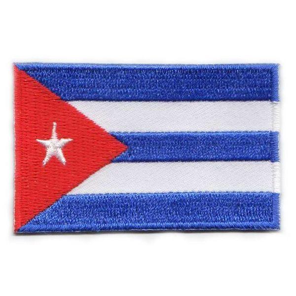 Kubanischer Flaggenpatch