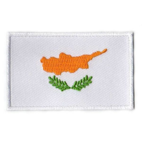 Flaggen-Patch Zypern