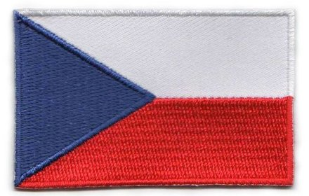 vlag patch Tsjechië