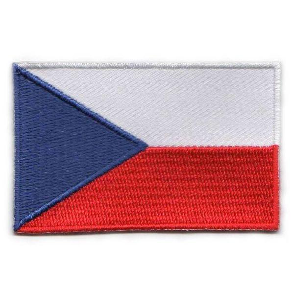 Czech Republic flag patch