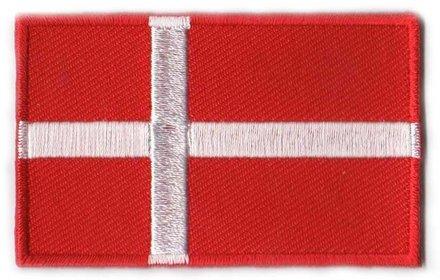 vlag patch Denemarken