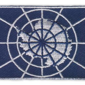 BACKPACKFLAGS flag patch Antarctica Treaty