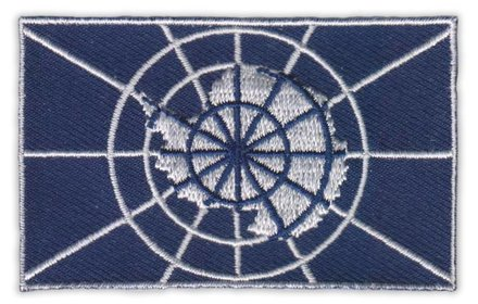 flag patch Antarctica Treaty