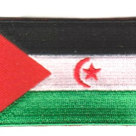 BACKPACKFLAGS flag patch Sahrawi Arab Democratic Republic