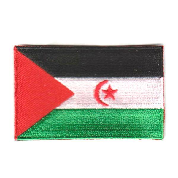BACKPACKFLAGS flag patch Sahrawi Arab Democratic Republic