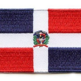 BACKPACKFLAGS flag patch Dominican Republic