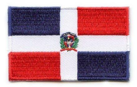 Flaggenpatch Dominikanische Republik