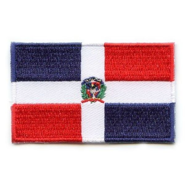 Dominican Republic flag patch