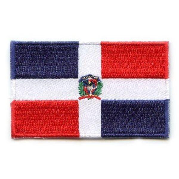 Flaggenflagge der Dominikanischen Republik