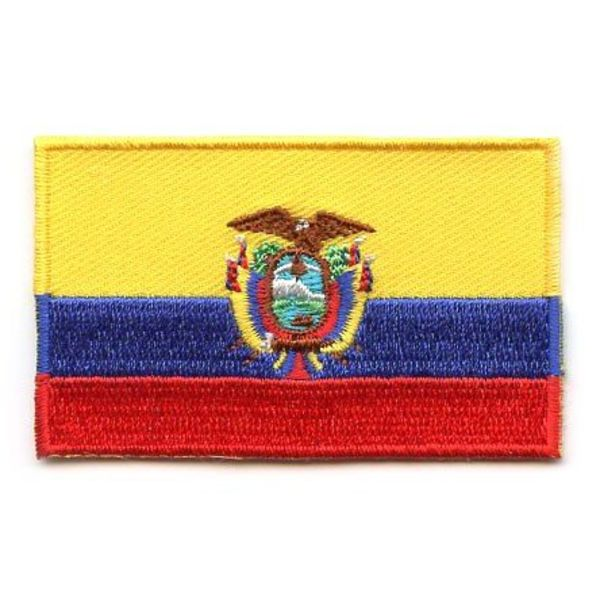 BACKPACKFLAGS flag patch Ecuador