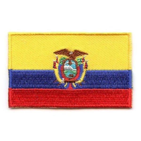 Ecuador flag patch