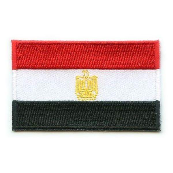 Ägypten Flagge Patch